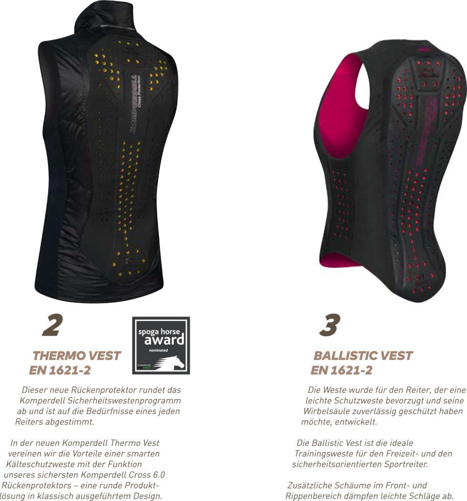 Thermo vest und Balistic Vest