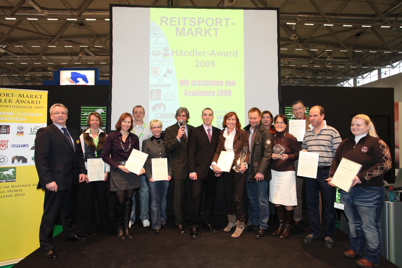 Reitsport Live, Händler Award 2009