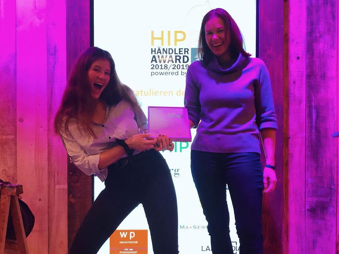 Urkunde Händler Award 2018/2019 Top 6